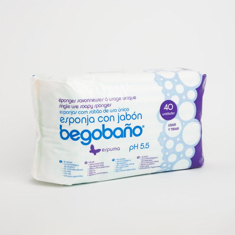 BS1 FOAM SOAP SPONGE – PACK 40