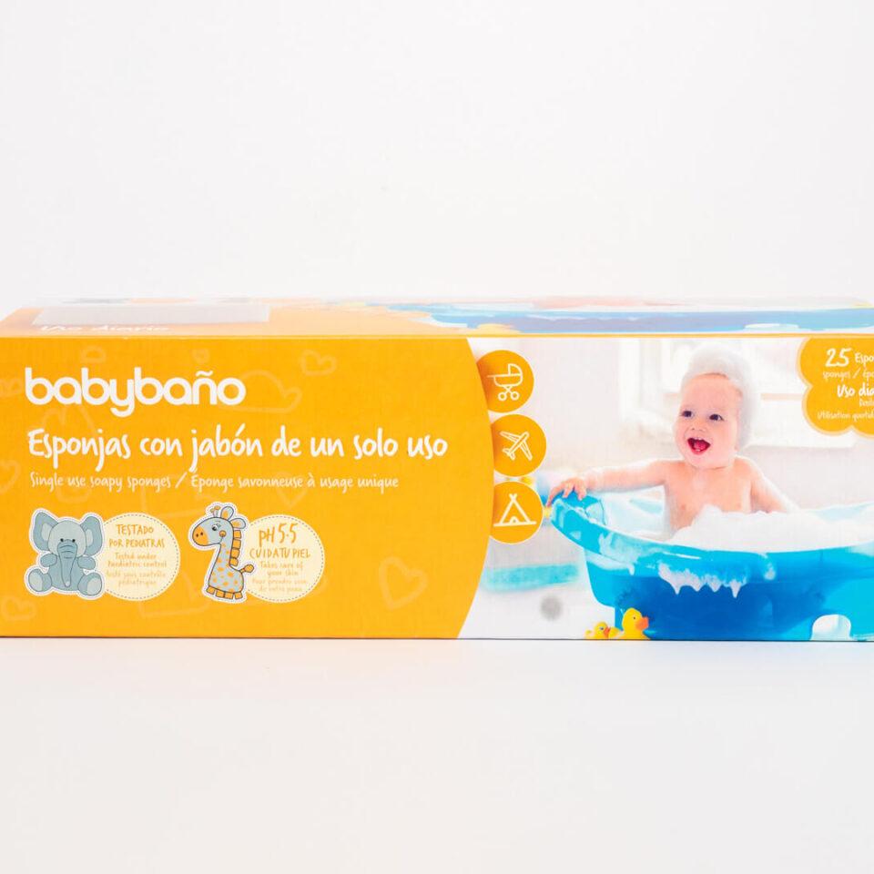 BSBB FOAM SOAP SPONGE – 25 INDIVIDUAL PACKS