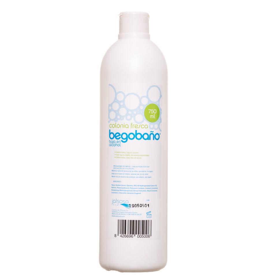 BCO-750 COLONIA FRESCA BEGOBAÑO 750 ml