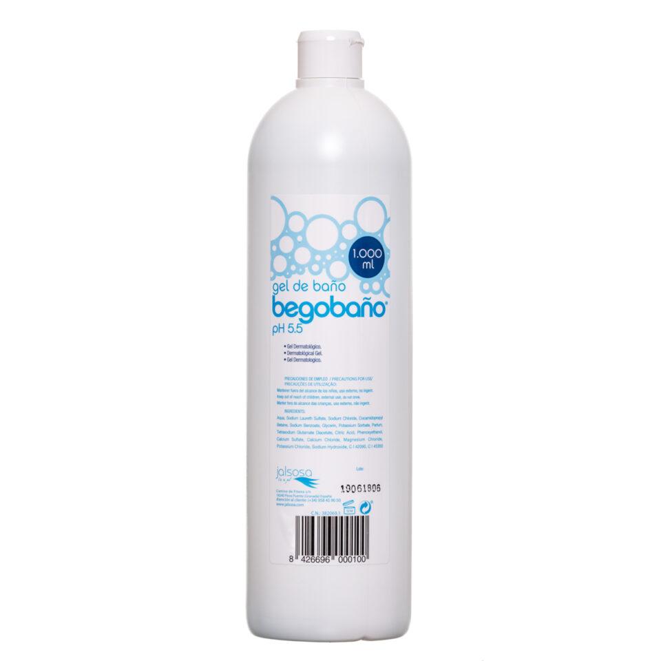 BGT-001 GEL DE BAÑO BEGOBAÑO 1.000 ml