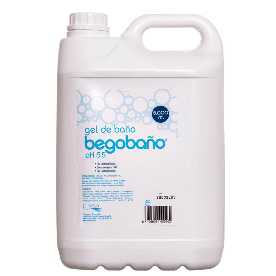 BGT-004 GEL DE BAÑO BEGOBAÑO 5.000 ml