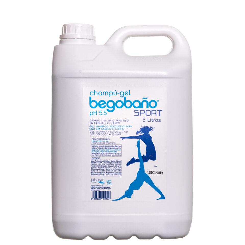 BGT-SPORT CHAMPÚ-GEL BEGOBAÑO 5.000 ml